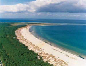 Strand in Mecklenburg-Vorpommernd-Darss