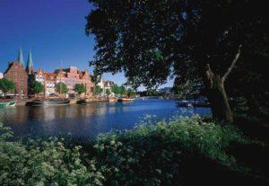 Der Museumshafen von Lübeck