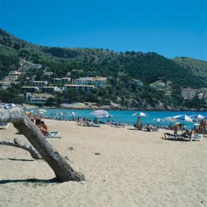 Der Strand von Canyamel bei Capdepera