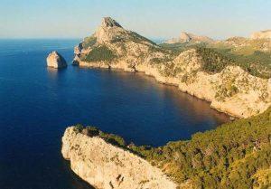 Das Cap de Formentor liegt an der Nordspitze Mallorcas