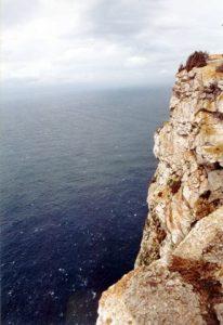 Steile Felsklippen am Cap de Formentor