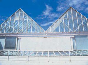 Die Glaskuppel des Atlantischen Zentrums auf Gran Canaria