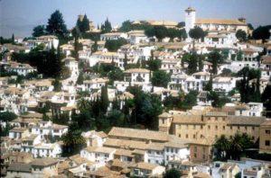 Das maurische Viertel in Granada