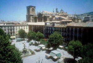 Die Kathedrale von Granada in der Altstadt