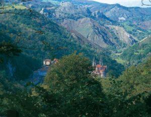 Typisches Landschaftsbild in Asturien