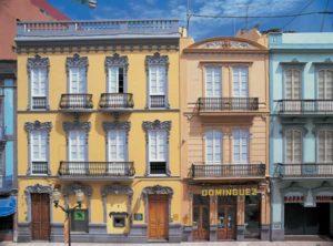 Typische Gebäude in der Altstadt von Las Palmas