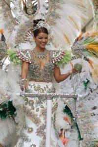 Beim Karneval auf Gran Canaria werden wunderschöne Kostüme präsentiert
