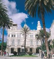 Klassizistische Baukunst in Las Palmas