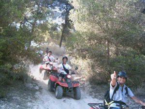 Quad fahren ist auf Mallorca ein neuer Freizeittrend