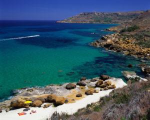 Badebucht auf Malta
