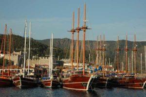 Der Hafen von Marmaris