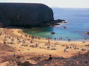 Die Playas de Papagayo im Süden von Lanzarote