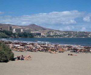 Playa del Inglés, Gran Canarias größter Urlaubsort
