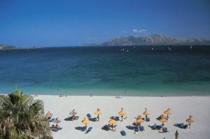 Strand bei Puerto Pollensa