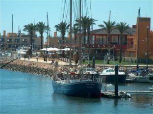 In der Hafenstadt Portimao geht es noch beschaulich zu