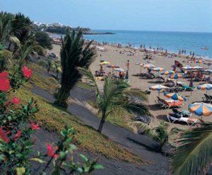 Strand von Puerto del Carmen auf Lanzarote