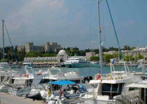 Mandraki Hafen Rhodos