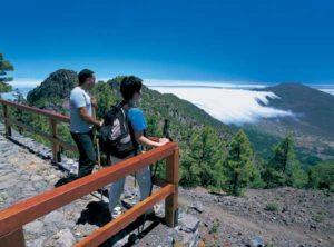 Aussichtspunkt auf der Ruta de los Volcánes