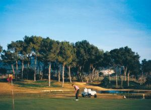 Santa Ponsa ist bei Golfern sehr beliebt