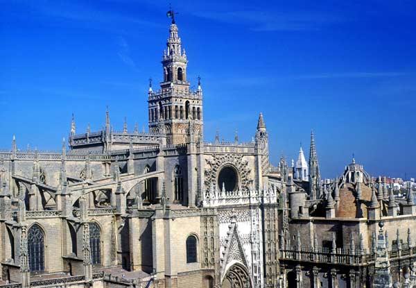 kathedrale sevilla catedral de santa mar a de la sede. Black Bedroom Furniture Sets. Home Design Ideas