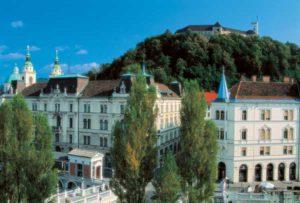 Ljubljana ist die Hauptstadt von Slowenien