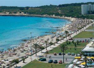Strand und Promenade von Cala Millor