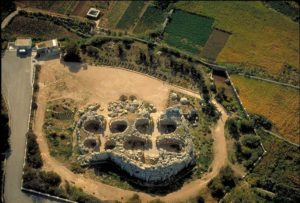 Weltkulturerbe Tempelstätte Ggantija auf Malta