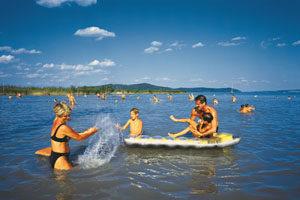 Der Balaton ist das wichtigste Urlaubsziel in Ungarn