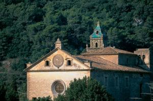 Das bekannte Karthäuserkloster in Valldemossa
