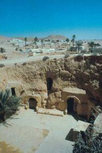 Im Höhlendorf Matmata wohnen noch heute Menschen