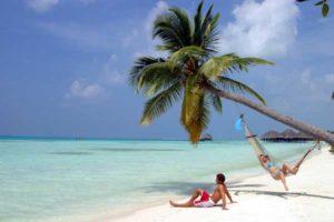 Auf den Trauminseln der Malediven fühlt man sich wie Robinson Crusoe