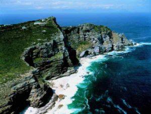 Südafrika liegt am Atlantik und am Indischen Ozean