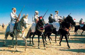 Das Saharafestival lockt viele Besucher an.