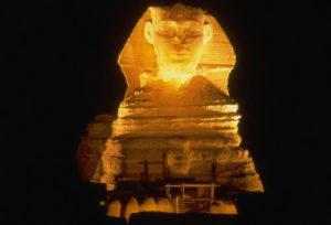 Die berühmte Sphinx von Gizeh ist auch heute noch ein Rätsel