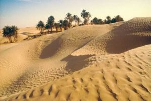 Tunesische Wüstenlandschaft