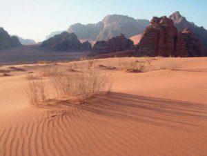 Die Wüsten Jordaniens sind ein eindrucksvolles Naturschauspiel