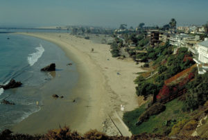 Strand von Balboa Beach in Kalifornien