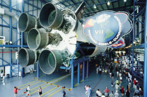 Das Kennedy Space Center in Cape Canaveral