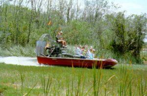 Mit dem Luftkissenboot durch die Everglades