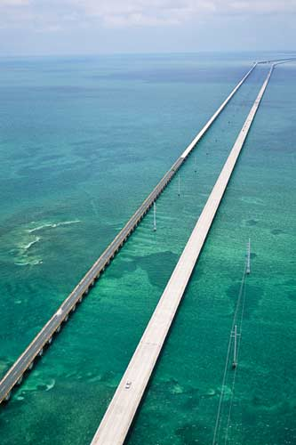 Seven Mile Brigde in den Florida Keys