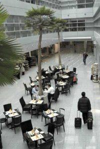 Gastronomischer Betrieb am Flughafen Düsseldorf