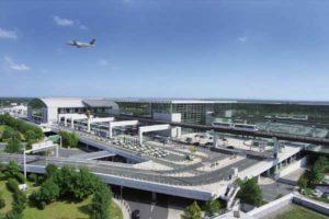 Flughafen Frankfurt Zufahrt zu den Terminals