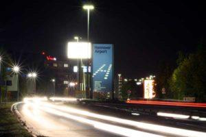 Flughafen Hannover Zufahrtsstraße