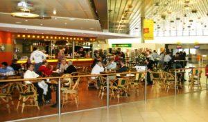 Restaurant im Flughafen Hannover