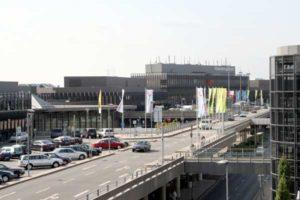 Zufahrsbereich zum Flughafen Hannover