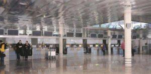 Check-In-Halle am Flughafen Innsbruck