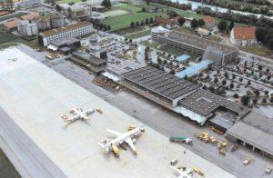 Flughafen Innsbruck Luftaufnahme