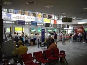 Serviceeinrichtungen im Flughafen Klagenfurt