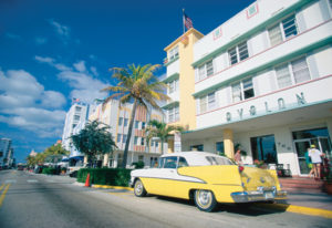 Art Deco in Miamis South Beach