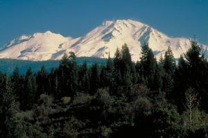 Mount Shasta, der zweithöchste Vulkan der USA